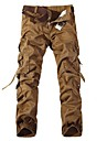 Men's Casual Multi Pockets Washed Casual Cotton Cargo Pants