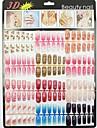 Manucure Bouts  pour ongles entiers Abstrait Classique Dessin Anime Adorable Haute qualite Quotidien