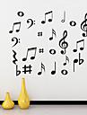 Muzică Perete Postituri Autocolante perete plane Autocolante de Perete Decorative,Vinil Pagina de decorare de perete Decal For Perete