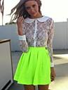 Pentru femei Umflat Shorts Clasic & Fără Vârstă Fuste - Culoare solidă