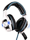 sades sa-903 USB căști pe ureche stereo multifuncțional cu microfon pentru calculator