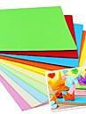 100 buc papercranes parfum Materiale de origami 7 * 7cm (8color / pachet culoare aleatorii)