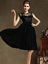 TS Simplitate Pure Color șifon Swing mâneci Maxi Dress