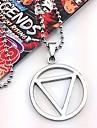 Smycken Inspirerad av Naruto Hidan Animé Cosplay-tillbehör Dekorativa Halsband Legering Herr Varm