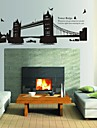 Wall Stickers Wall Decals Gemini London Bridge Decorative Sticker