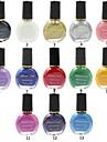 1 Nail Stamping Mall Dagligen Abstrakt Mode Hög kvalitet