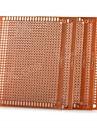 DIY 7 x 9cm bachelita placă de circuit pcb universal - de aur (5pcs)