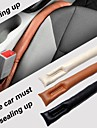 lebosh ™ pu bouchon de fente de sécurité du véhicule en cuir étanche étui de protection (x2)