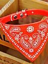 Câine Gulere Bandană Guler Ajustabile / Retractabil Bandane Negru Rosu Albastru Roz