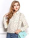 femei ancore sifon imprimare bluză (mai multe culori)