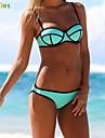 neopren bikini set de costume de baie kissties®women lui împinge în sus bikini stabilit bomboane de culoare