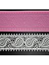 Four-C tårta leveranser spets silikonmatta spets form för socker hantverk, silikonmatta fondant tårta verktyg färgen rosa