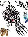 1 Mönster Stor storlek Ländrygg Vattentät Djurserier Tatueringsklistermärken