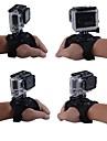 Hand Remmar Axelband Montering 360-graders rotation För Actionkamera Alla Gopro 5 Gopro 4 Gopro 3 Gopro 3+ Gopro 2 ABS Nylon