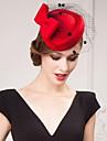 Femei Satin Tul Diadema-Nuntă Ocazie specială Informal Exterior Pălării/Căciuli