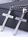 cadou personalizat turnare centrare inox pandantiv în formă de colier gravate bijuterii