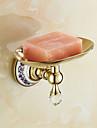 Savon Vaisselle et supports Neoclassique Laiton Cristal Ceramique 1 piece - Bain d\'hotel