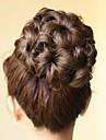 Svart Brun Accessoarer Klassisk Hårknut updo Hög kvalitet Chinjonger Syntetiskt hår Hårstycke HÅRFÖRLÄNGNING Accessoarer Klassisk Dagligen