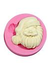jultema silikonform silikon jultomten godis mögel för fondant Fimo tuggummi klistra&tvål choklad