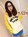 zian® hanorac fleece hoodies pulover amestec de culori pentru femei