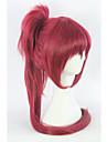 Peruci de Cosplay Puella Magi Madoka Magica Cosplay Roșu Mediu Anime Peruci de Cosplay 75 CM Fibră Rezistentă la Căldură Feminin