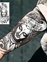 1 pcs Временные тату Временные татуировки Тату с тотемом Специальный дизайн / Экологичные Искусство тела рука / ножка / Стикер татуировки