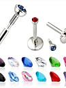 Cristal Labret, Lip Piercing Jewelry - Cristal, Diamante Artificiale Buze Design Unic, Modă Pentru femei Bijuterii de corp Pentru Cadouri de Crăciun / Zilnic / Casual