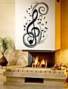 Muzică Modă Forme Perete Postituri Autocolante perete plane Autocolante de Perete Decorative Material Detașabil Pagina de decorarede