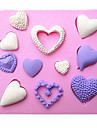 formă de inimă silicon fondantă de matrite tort mucegai ciocolată pentru copt bucătărie decorare sugarcraft instrumentul