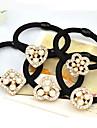Toate Sezoanele Vintage Draguț Petrecere Birou Casual Imitație de Perle Material Textil Aliaj,Elastic Păr