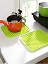 Oală Titular & Cuptor Mitt For Pentru ustensile de gătit Oțel Inoxidabil Plastic -Izolate termic