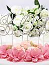 Vârfuri de Tort Nepersonalizat Monogramă CromAniversare / Petrecerea Bridal Shower / Petrecerea Baby Shower / Quinceañera & Dulcele 16 /