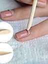 50st nagel konst trä pinnar nagelband pusher uv gel polish remover pedikyr manikyr verktyg för borttagning
