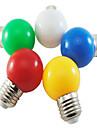 5pcs 1W 100 lm E26/E27 Bulb LED Glob G45 5 led-uri SMD 2835 Decorativ Alb Natural Verde Galben Albastru Roșu 220V-240V
