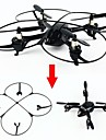 RC Dronă Attop YD928 4CH 6 Axe 2.4G Quadcopter RC Lumini LED Quadcopter RC / Telecomandă / Cablu USB