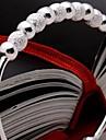 Brățări Brățări Bantă Plastic Nuntă / Petrecere / Zilnic Bijuterii Cadou Argint,1 buc