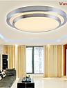 Modern Takmonterad Fluorescerande - Ministil LED, 90-240V 110-120V 220-240V, Varmt vit Vit, LED-ljuskälla ingår