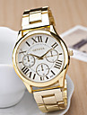 Women\'s Wrist Watch Quartz Stainless Steel Gold Casual Watch Analog Ladies Charm Fashion