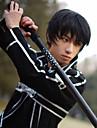 Perruques de Cosplay Sword Art Online Kirito Manga Perruques de Cosplay 10cm CM Fibre resistante a la chaleur Homme