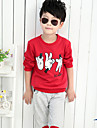 Băieți Set Îmbrăcăminte Imprimeu Bumbac Primăvară Vară Toamnă Manșon Lung Regular