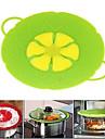 Instrumente de gătit dop floare silicon capac scurgerii carcasă din silicon capac pentru pan (culoare aleatorii)