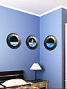 Militär Landskap Väggklistermärken Väggstickers Flygplan Dekrativa Väggstickers Material Kan ompositioneras Hem-dekoration vägg~~POS=TRUNC