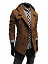 Bărbați Palton Casul/Zilnic Simplu Modă,Mată Manșon Lung Primăvara/toamnă