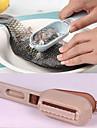1 buc capac piele de pește de pește decopertarea razatoare perie scară elimina rapid gadget-uri de bucătărie (de culoare aleatorii)