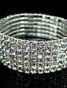 Brățări Bangle de Mireasă costum de bijuterii Diamante Artificiale Bijuterii Pentru Nuntă Cadouri de Crăciun