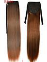 Poninhännät Synteettiset hiukset Hiuspalanen Hiusten pidennys Suora
