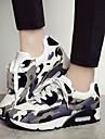 Pantofi pentru femei - Polyester / Țesătură - Toc Pană - Confortabili / Vârf Rotund / Vârf Inchis - Teniși la Modă - Outdoor / Casual -