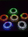 6 LED Blanc Froid Rechargeable Decorative Pile