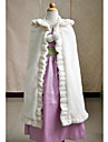 Sleeveless Faux Fur Wedding Party Evening Casual Kids\' Wraps Capes