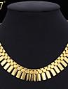 Pentru femei - Placat cu platină Placat Auriu Aliaj Vintage Draguț Petrecere Birou Casual Modă Geometric Shape Coliere Pentru Ocazie